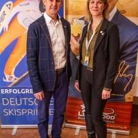 Jens Weißflog und Daniela Graß, Koordinatorin des Niederlausitzer Netzwerks Gesunde Kinder (Foto: LéonWood®, Ariane Dietrich) (Bild: 6/6)