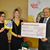 Spendenübergabe der KWG (Foto: Ralf Weide)
